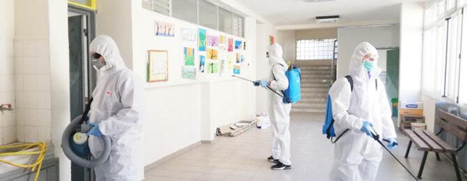 μικροβιοκτονία - απολύμανση